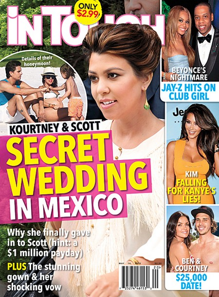 Kourtney Kardashian and Scott Disick's Secret Wedding In Mexico