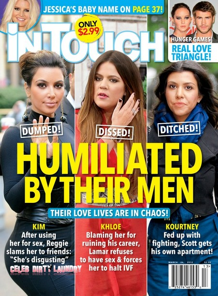 Kim Kardashian And Her Sisters Humiliated And Abused By Their Men (Photo)