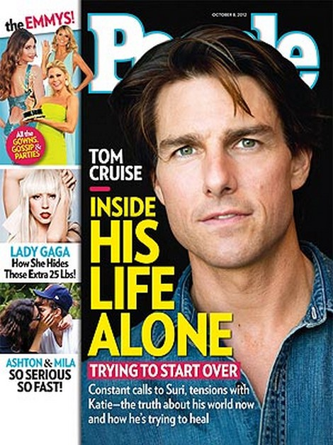Inside Tom Cruise's Life Alone As He Tries To Start Over (Photo)