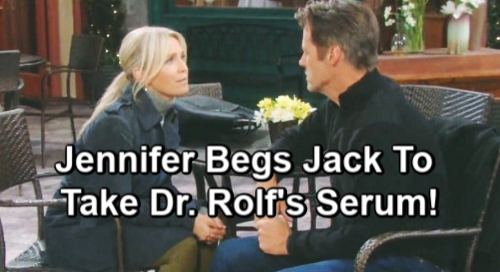 Days of Our Lives Spoilers: Jack Risks Brain Tumor to Get Memories Back – Risk All for Love