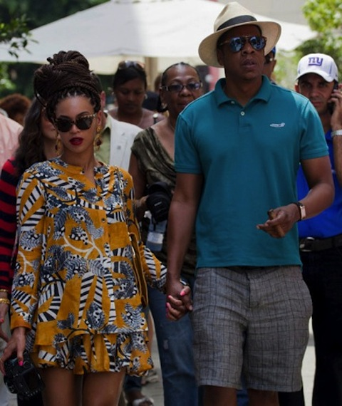 Jay-Z and Beyonce's Offensive Cuban Vacation