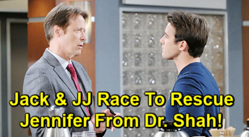 Days of Our Lives Spoilers: Jack and JJ Panic Over Jennifer's Disappearance – Violent Dr. Shah's Deadly Hostage Crisis