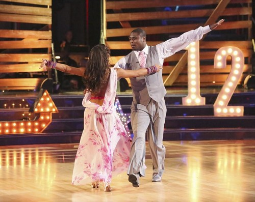 Jacoby Jones Dancing With the Stars Jive Video 4/15/13