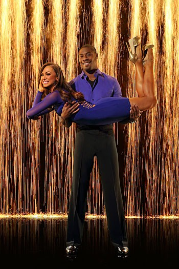 Jacoby Jones Dancing With the Stars Cha Cha Cha Video 3/18/13