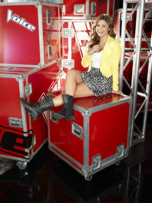 "Jacquie Lee The Voice Top 10 ""Clarity"" Video 11/18/13 #TheVoice"