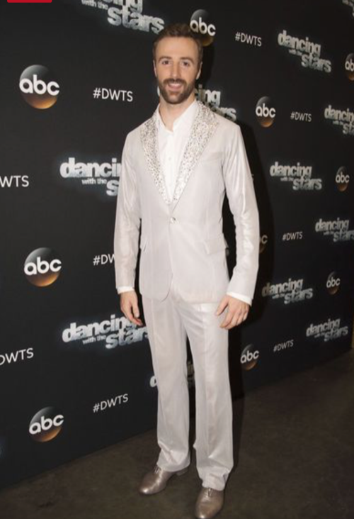 James Hinchcliffe Dancing With The Stars Viennese Waltz Video Season 23 Week 8 – 10/31/16 #DWTS