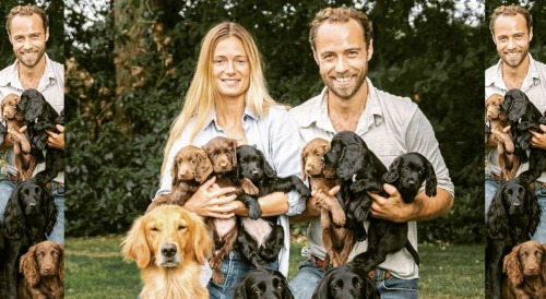 James Middleton Bids Farewell To Beloved Puppies - Kate Middleton's Brother Posts Emotional Goodbye Message
