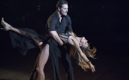 Jana Kramer Dancing With The Stars Tango Video Season 23 Week 2 – 9/19/16 #DWTS