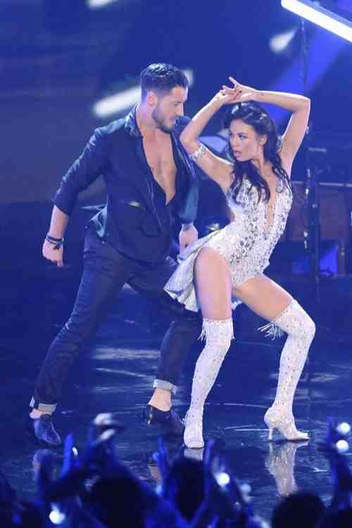WATCH Janel Parrish & Val Chmerkovskiy Rumba Video Dancing With the Stars Season 19 Week 4