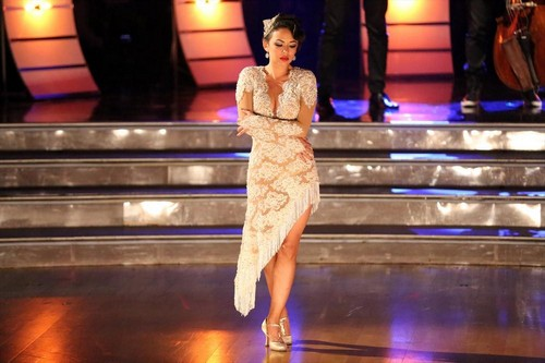 Janel Parrish and Val Chmerkovskiy Dancing With the Stars Samba Video Season 19 Finale #DWTS
