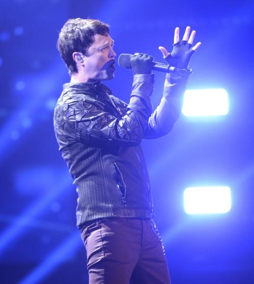 "Jeff Gutt The X Factor ""O Holy Night"" Video 12/19/13 #TheXFactorUSA"