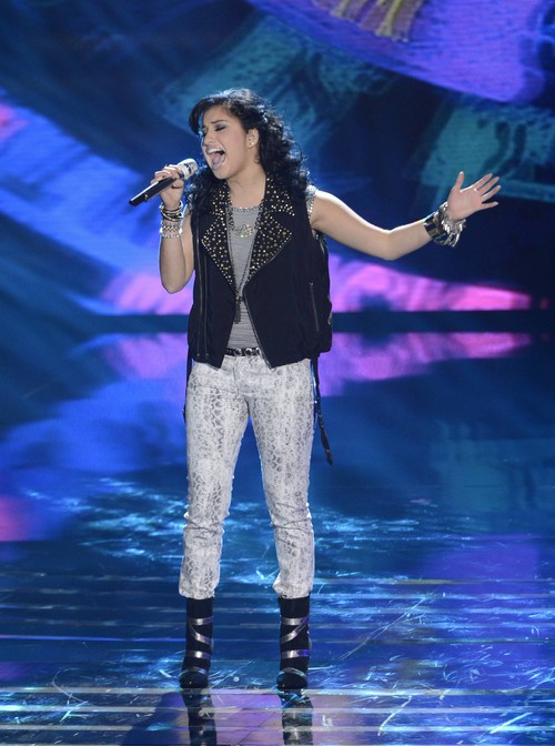 "Jena Irene American Idol ""Suddenly I See"" Video 3/5/14 #IdolTop12"