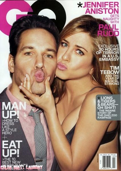 Jennifer Aniston And Paul Rudd Cover GQ Magazine (Photo)