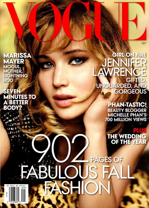 Jennifer Lawrence Insists Fame Gives Her Anxiety - Vogue Interview