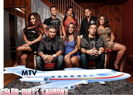 Jersey Shore Cast Escapes Hurricane Irene - Flys To VMA Show