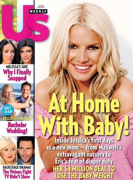 Inside Jessica Simpson's First Days As A New Mom (Photo)