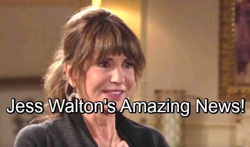 The Young and the Restless Spoilers: Jess Walton Shares Amazing News About Husband's Surgery