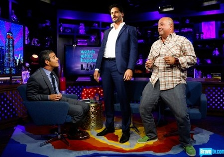Magic Mike's Joe Manganiello Teaches Andy Cohen How to Strip! (Video)
