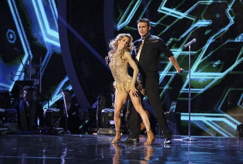 Jonathan Bennett & Allison Holker Dancing With the Stars Tango Video Season 19 Week 3 9/29/14 #DWTS