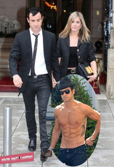Check Out Justin Theroux's Yummy 6-Pack! (Photo)