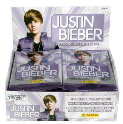 Justin Bieber's Trading Cards Now Available To Collect!
