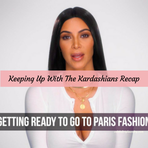 Keeping Up With The Kardashians (KUWTK) Recap 3/19/17: Season 13 Episode 2