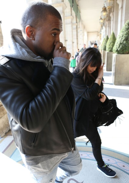 Kanye West Furious Over Ray J Attack On Kim Kardashian 0407