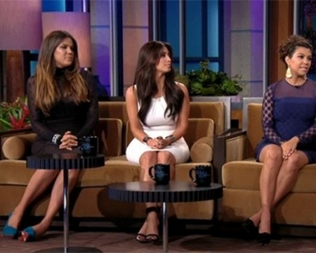 The Kardashian Clan Visits Leno (Video)