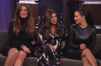 The Kardashian Sister's Dish It All Out On Jimmy Kimmel