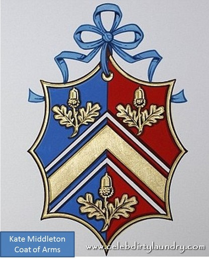 Kate Middleton Got Her Own 'Coat Of Arms'