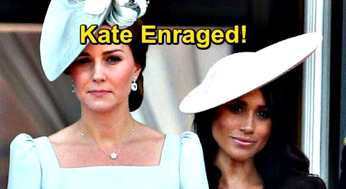 Kate Middleton Enraged Over Tatler Article - Editor Is Former Friend, Duchess of Cambridge Feels Betrayed