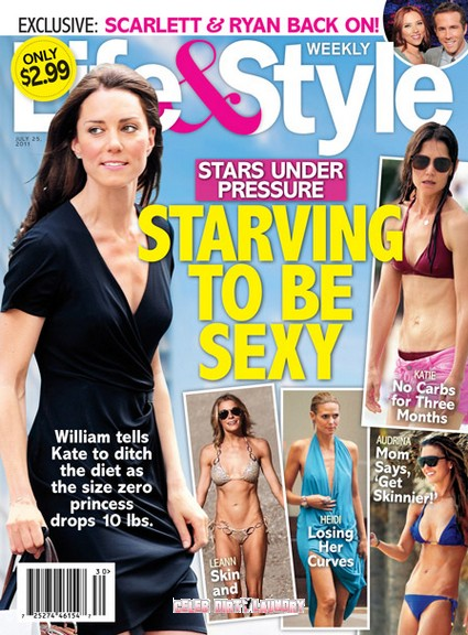 Kate Middleton: Starving To Be Sexy