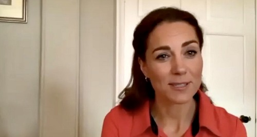 Kate Middleton Virtually Tours Addiction Treatment Center - Urges People To Reach Out For Help During Lockdown