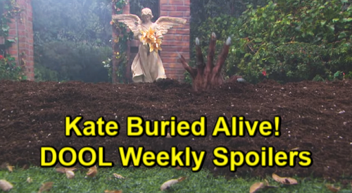 Days of Our Lives Spoilers: Week of September 9 – Kate Buried Alive by Vivian – Nicole & Kristen's Showdown – Xander's Discovery