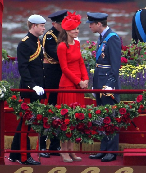 William, Kate & Prince Harry Visit Tower Of Londons