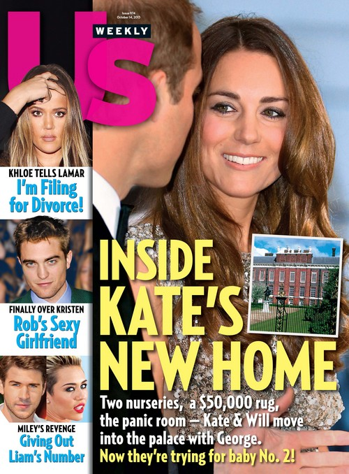 Kate Middleton and Prince William's Second Pregnancy Announcement From Kensington Palace - Couple Move In and Gets Cozy (PHOTO)
