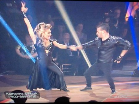 Katherine Jenkins Dancing With The Stars Samba Performance Video 4/23/12