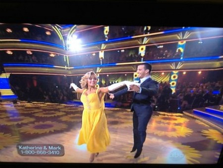 Katherine Jenkins Dancing With The Stars Argentine Tango Performance Video 4/16/12