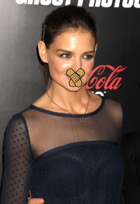 Muzzled! Confidentiality Agreement Prevents Katie Holmes From Telling All
