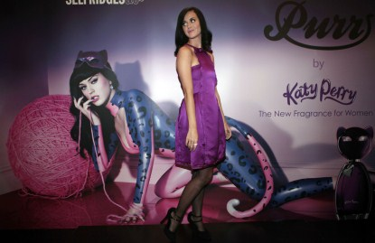 Katy Perry Launches Her Perfume Purr In London