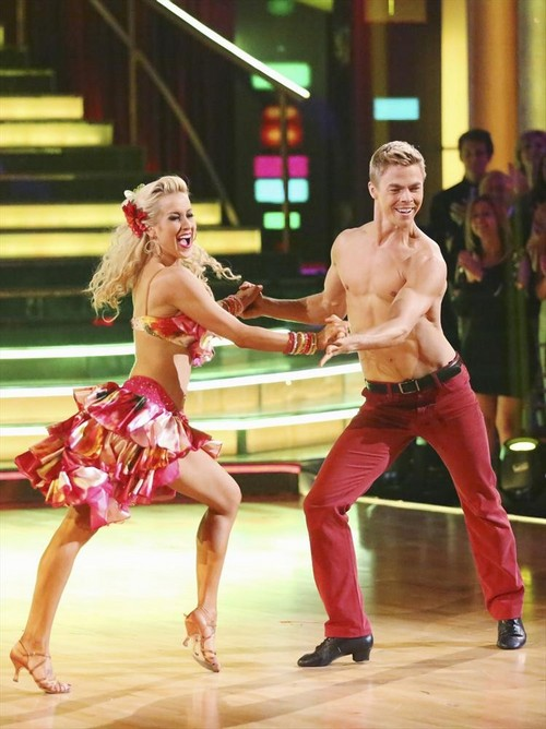 Kellie Pickler Dancing With the Stars Paso Doble Trio Dance Video 5/6/13