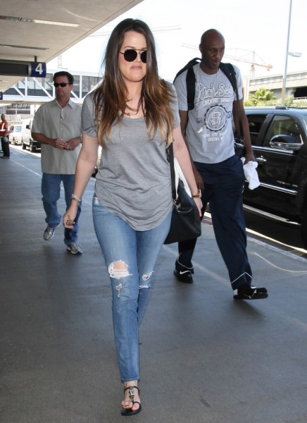 Khloe Kardashian, Lamar Odom Stealing From Cancer Research Charity? 0402