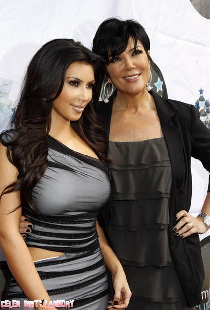 Kim Kardashian And Kris Jenner Faked Heart To Heart On 'Kourtney and Kim Take New York' (Video)