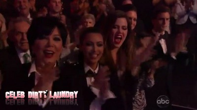 Kim Karadshian's Broken Heart Mended as She Cheers Rob On In DWTS Audience