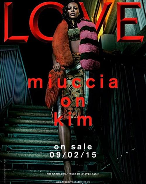 "Kim Kardashian Divorce: Shocking New Photos - Kanye West Demands Kim Use ""West"" Surname On Love Magazine Cover!"