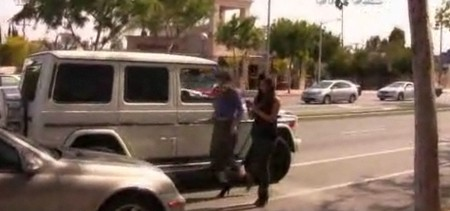 Kim And Khloe Kardashian Get Into Road Rage Battle With CBS Sports (Video)