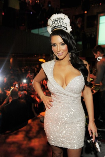 Kim Kardashian's Debuted Her New Song In Las Vegas