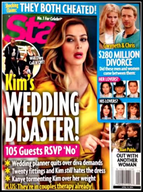 Kim Kardashian And Kanye West Wedding Disaster: Beyonce And Other Top Celebs Refuse To Attend The Famewhore Spectacle! (PHOTO)