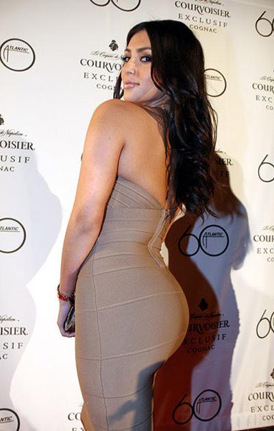 Kim Kardashian Wins 'World's Best Bum Of 2010'