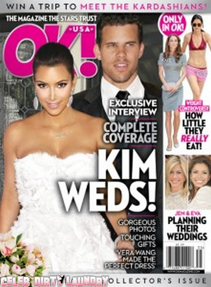 OK! Magazine: Exclusive Interview, Kim Kardashian Weds!